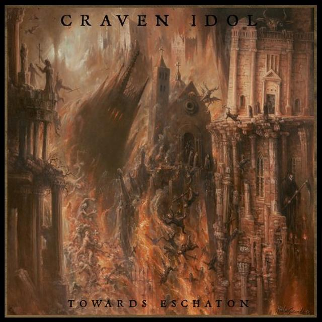 Craven Idol TOWARDS ESCHATON Vinyl Record
