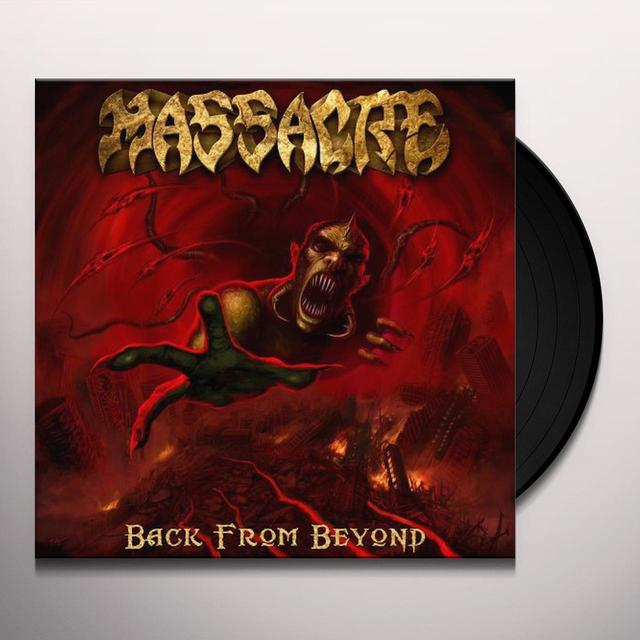 Massacre BACK FROM BEYOND Vinyl Record