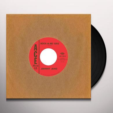 Johnny/Rusty Kershaw Jano ROCK-A-ME LULU/CARRY ON Vinyl Record - UK Import