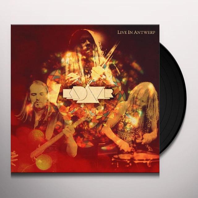 Kadavar LIVE IN ANTWERP Vinyl Record - Holland Import