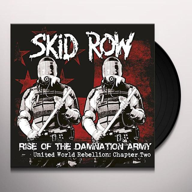 Skid Row RISE OF THE DAMNATION ARMY Vinyl Record