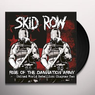 Skid Row RISE OF THE DAMNATION ARMY Vinyl Record - UK Import