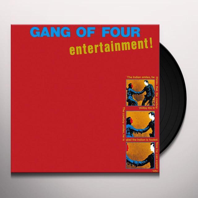 Gang Of Four ENTERTAINMENT Vinyl Record - UK Import