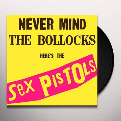 Sex Pistols NEVER MIND THE BOLLOCKS Vinyl Record - UK Import