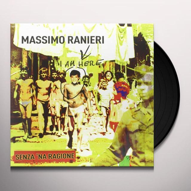 Massimo Ranieri SENZA 'NA RAGIONE Vinyl Record