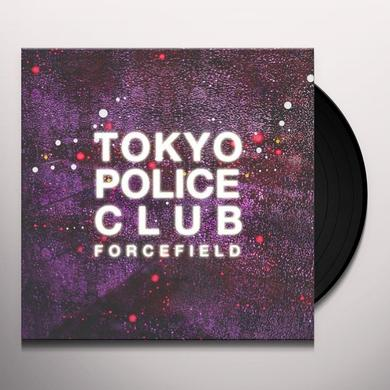 Tokyo Police Club FORCEFIELD (CLEAR VINYL) Vinyl Record - Canada Import