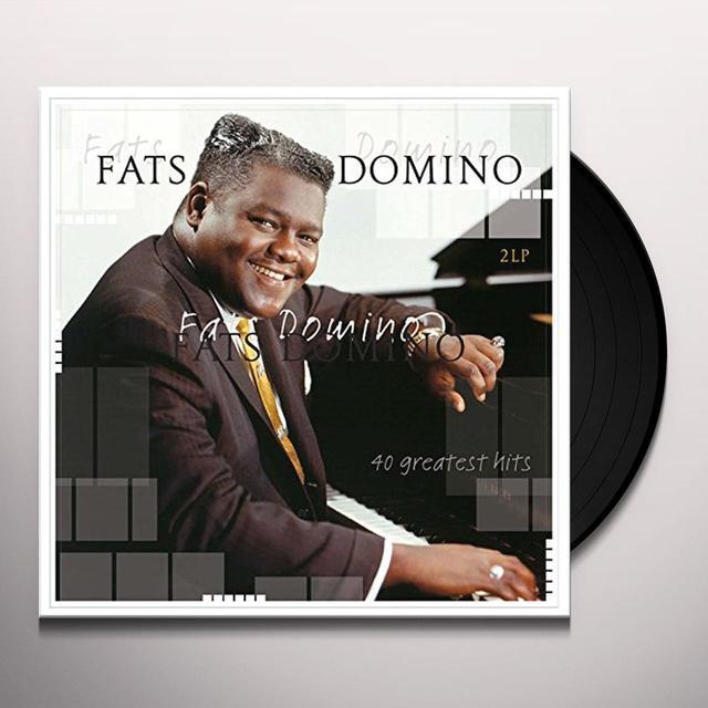 Fats Domino 40 GREATEST HITS Vinyl Record - Holland Import