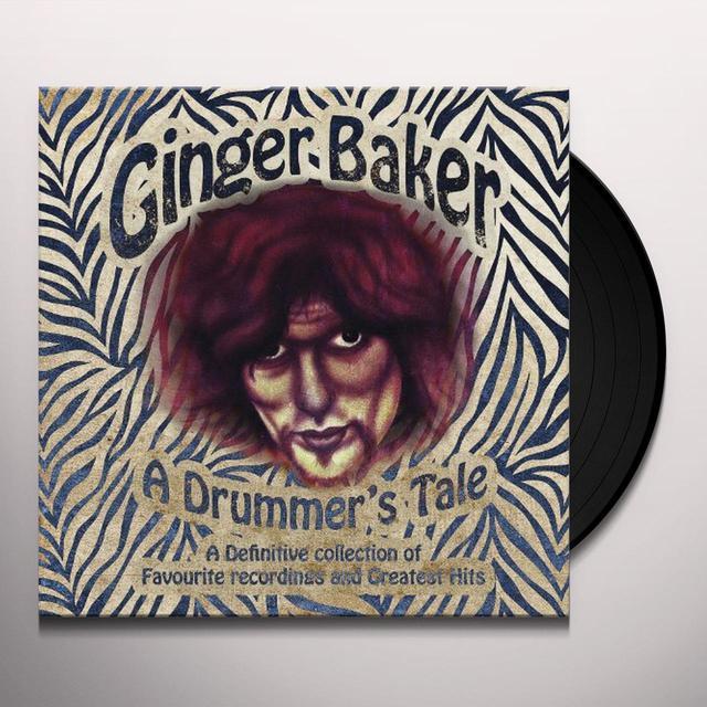 Ginger Baker DRUMMER'S TALE Vinyl Record - UK Release