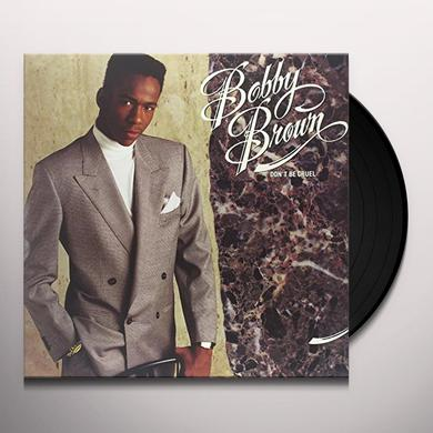Bobby Brown DON'T BE CRUEL Vinyl Record