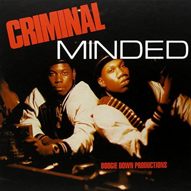 Boogie Down Productions CRIMINAL MINDED Vinyl Record