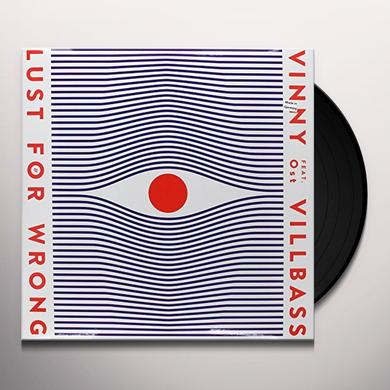 Vinny Villbass LUST FOR WRONG Vinyl Record