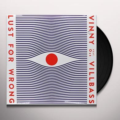 Vinny Villbass LUST FOR WRONG Vinyl Record