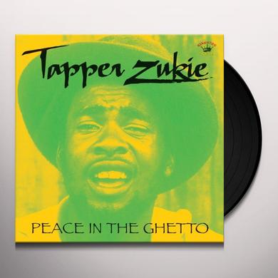 Tapper Zukie PEACE IN THE GHETTO Vinyl Record