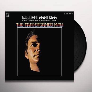 William Shatner TRANSFORMED MAN Vinyl Record - Limited Edition