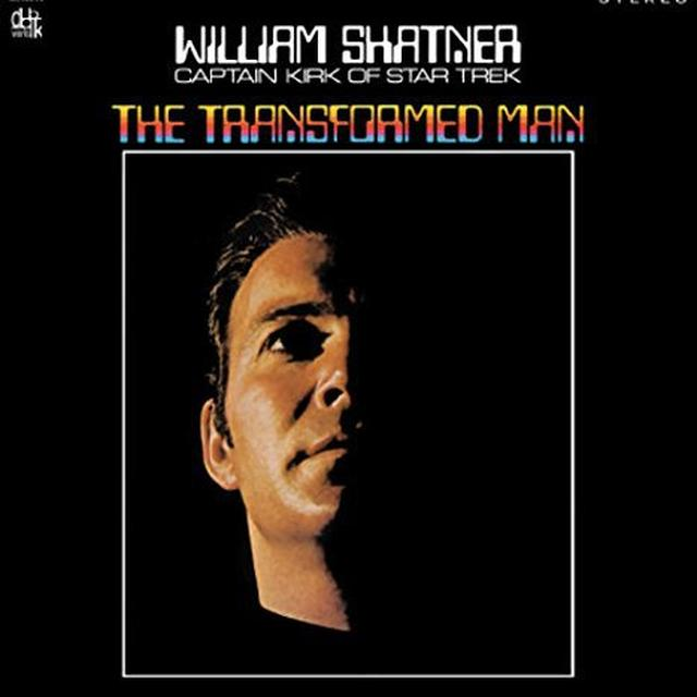 William Shatner TRANSFORMED MAN Vinyl Record