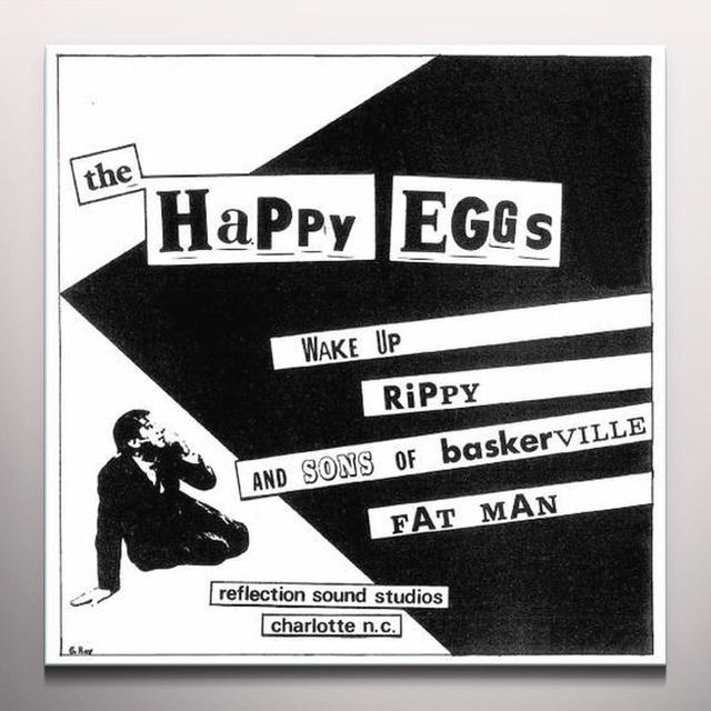 Happy Eggs WAKE UP Vinyl Record - Clear Vinyl, Limited Edition