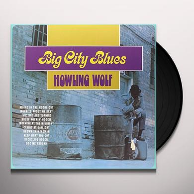 Howling Wolf BIG CITY BLUES Vinyl Record