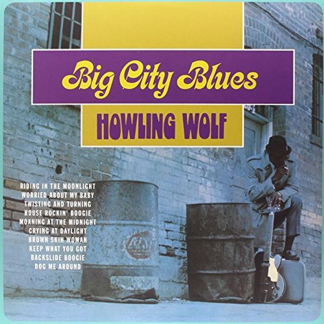 Howling Wolf BIG CITY BLUES Vinyl Record