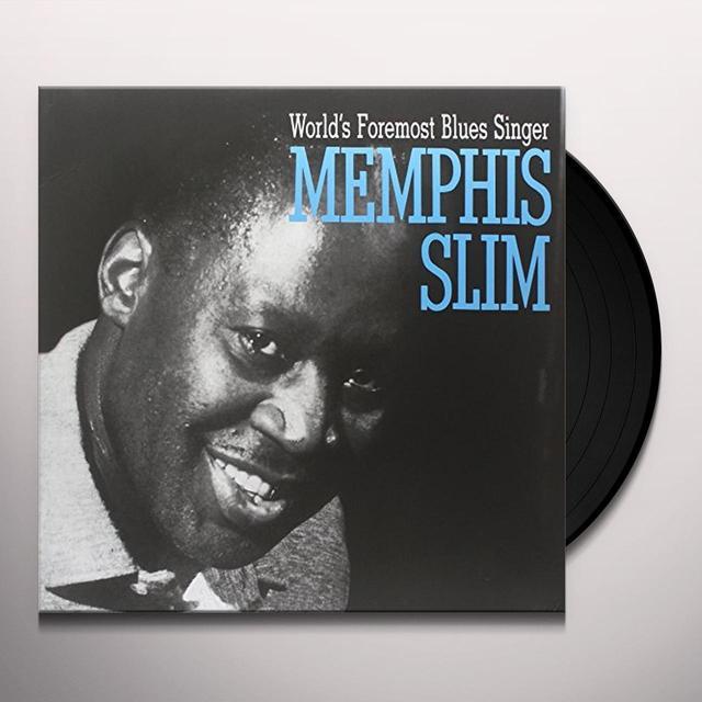 Memphis Slim WORLDS FOREMOST BLUES SINGER Vinyl Record