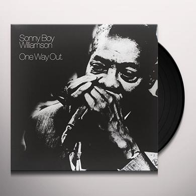 Sonny Boy Williamson ONE WAY OUT Vinyl Record