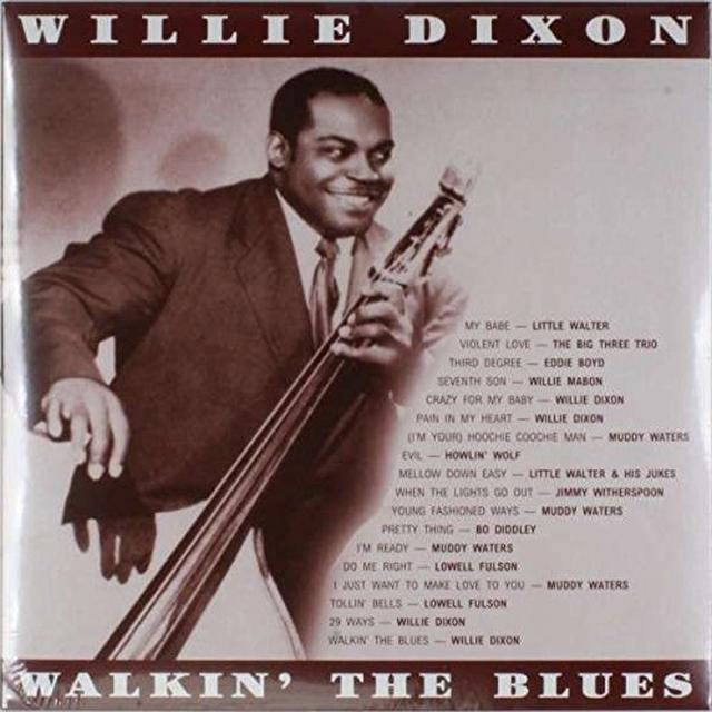 Willie Dixon WALKIN THE BLUES Vinyl Record