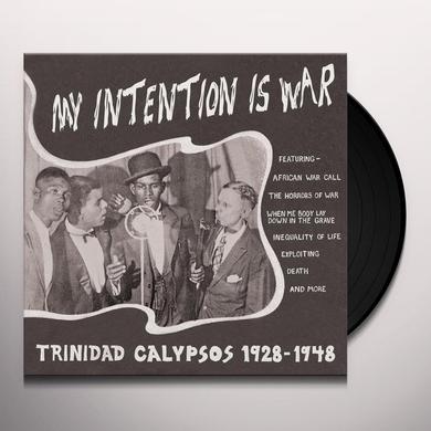 MY INTENTION IS WAR-TRINIDAD CALYPSOS 28-48 / VAR Vinyl Record
