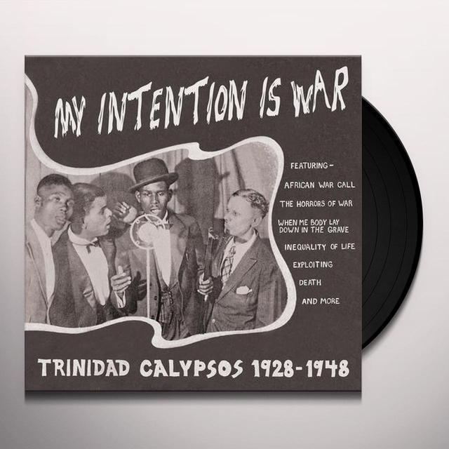 MY INTENTION IS WAR-TRINIDAD CALYPSOS 28-48 / VAR Vinyl Record