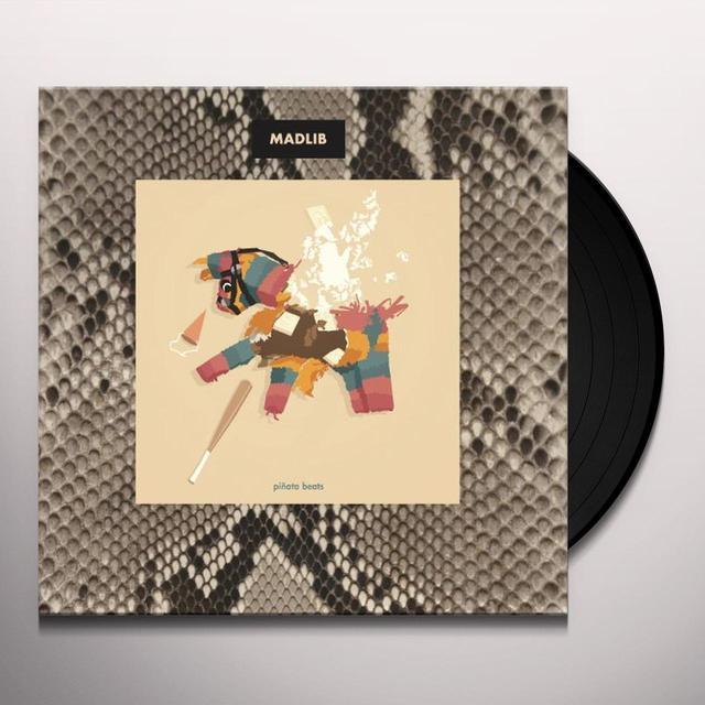 Madlib PINATA BEATS Vinyl Record