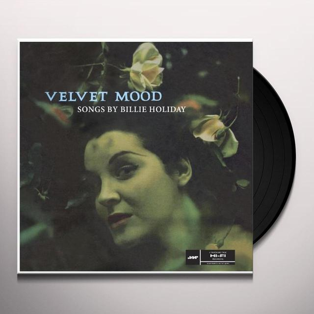 Billie Holiday VELVET MOOD Vinyl Record - Spain Import