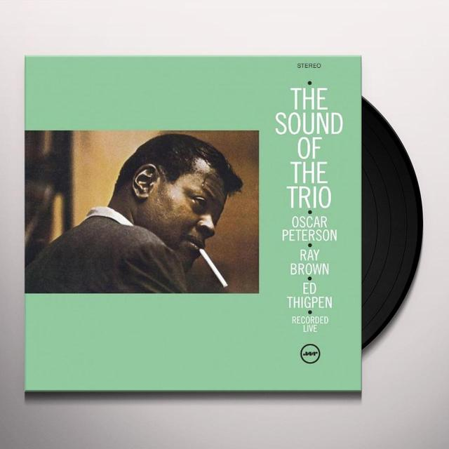 Oscr Peterson SOUND OF TRIO Vinyl Record - Spain Import