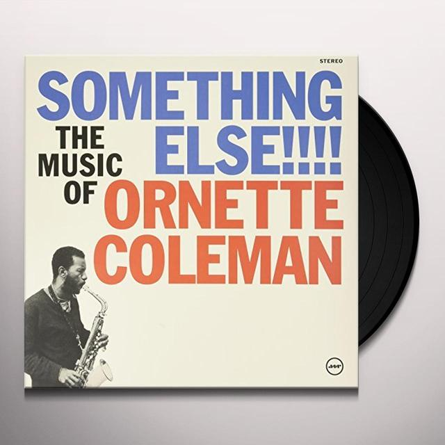 Ornette Coleman SOMETHING ELSE!!! Vinyl Record
