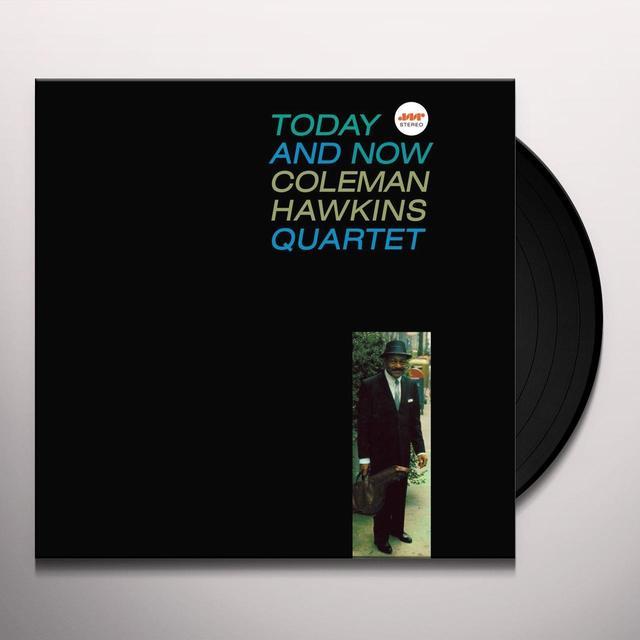 Coleman Hawkins TODAY & NOW Vinyl Record - Spain Import