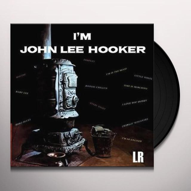 I'M JOHN LEE HOOKER Vinyl Record - Spain Release