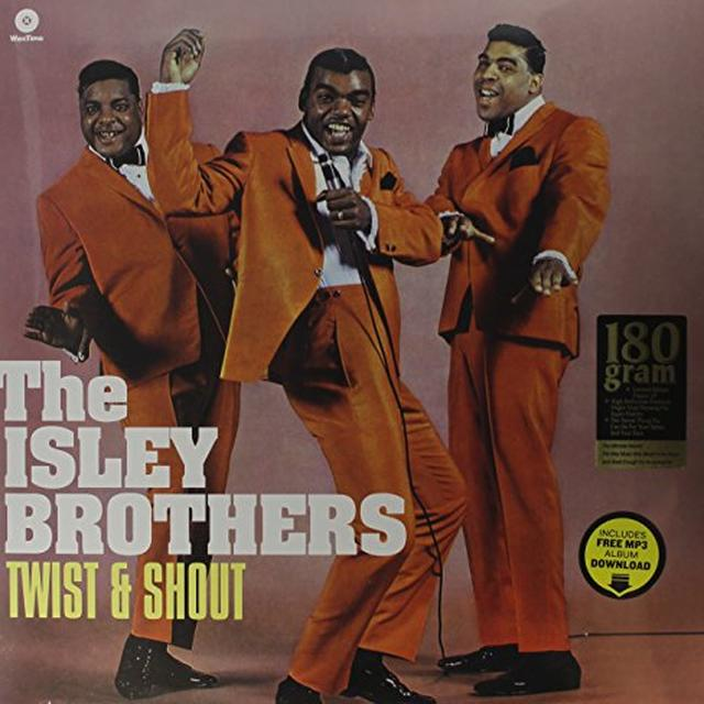The Isley Brothers TWIST & SHOUT Vinyl Record - Spain Import