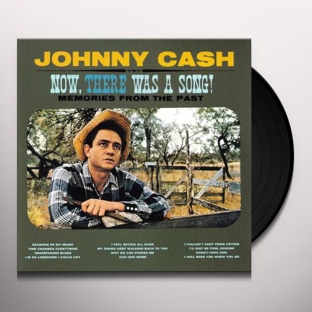 Johnny Cash NOW THERE WAS A SONG! Vinyl Record - Spain Import