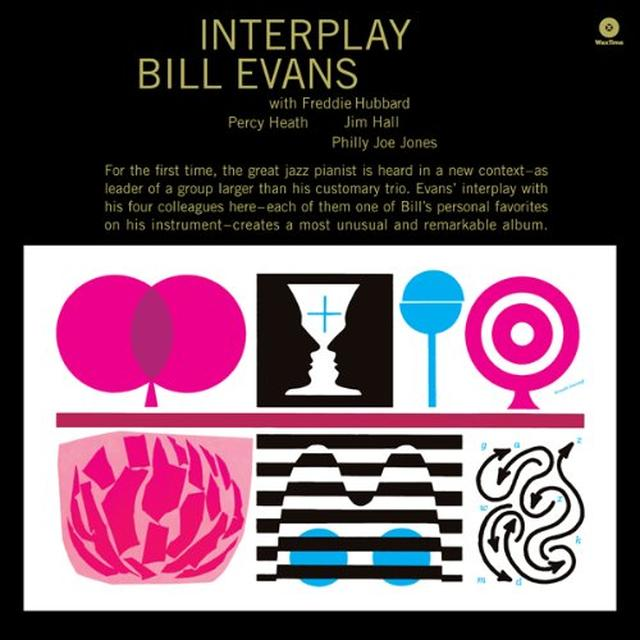 Bill Evans INTERPLAY Vinyl Record - Spain Import