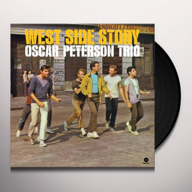 Oscar Peterson WEST SIDE STORY Vinyl Record - Spain Import