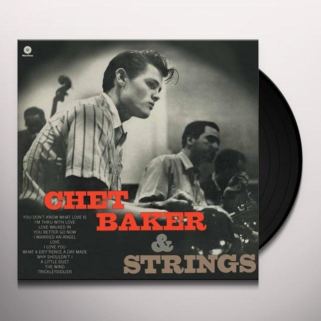 CHET BAKER & STRINGS Vinyl Record - Spain Import