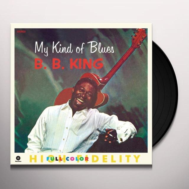 B.B. King MY KIND OF BLUES Vinyl Record - Spain Import