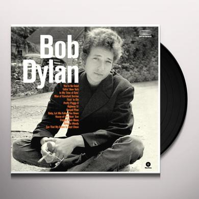 BOB DYLAN DEBUT ALBUM Vinyl Record - Spain Release
