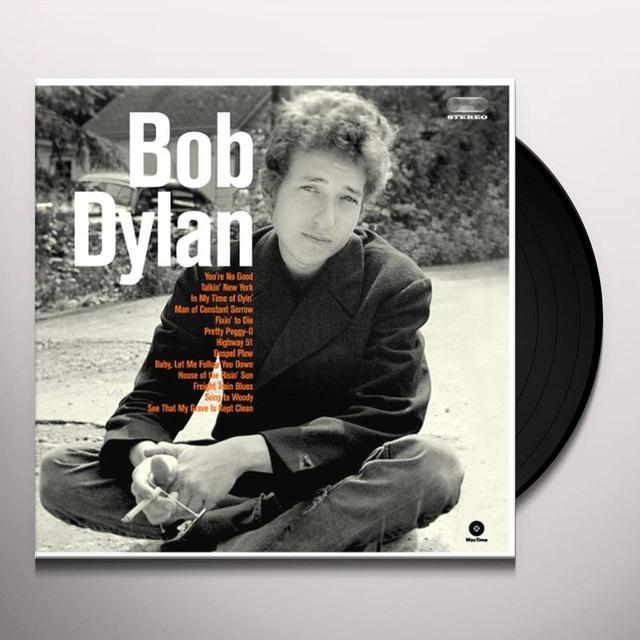 BOB DYLAN DEBUT ALBUM Vinyl Record - Spain Import