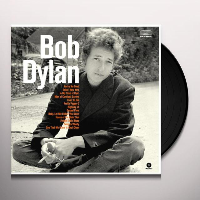 BOB DYLAN DEBUT ALBUM Vinyl Record