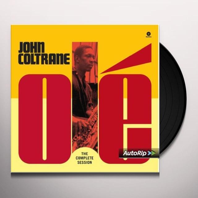 John Coltrane OLE COLTRANE-THE COMPLETE SESSION Vinyl Record - Spain Import