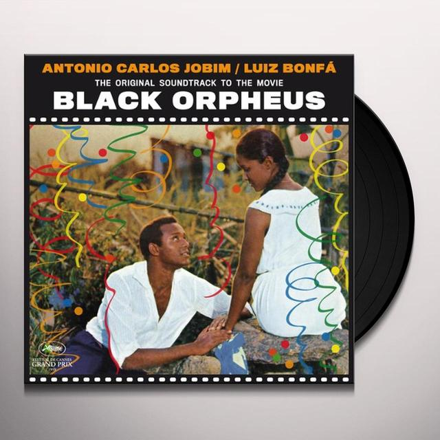 Antonio Carlos Jobim BLACK ORPHEUS Vinyl Record - Spain Import