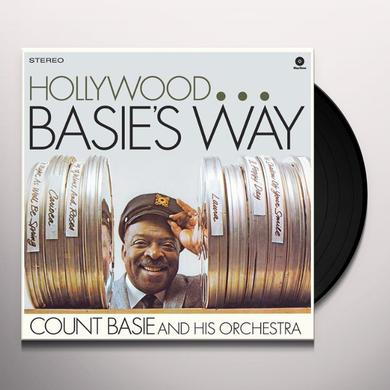 Count Basie HOLLYWOOD BASIE'S WAY Vinyl Record