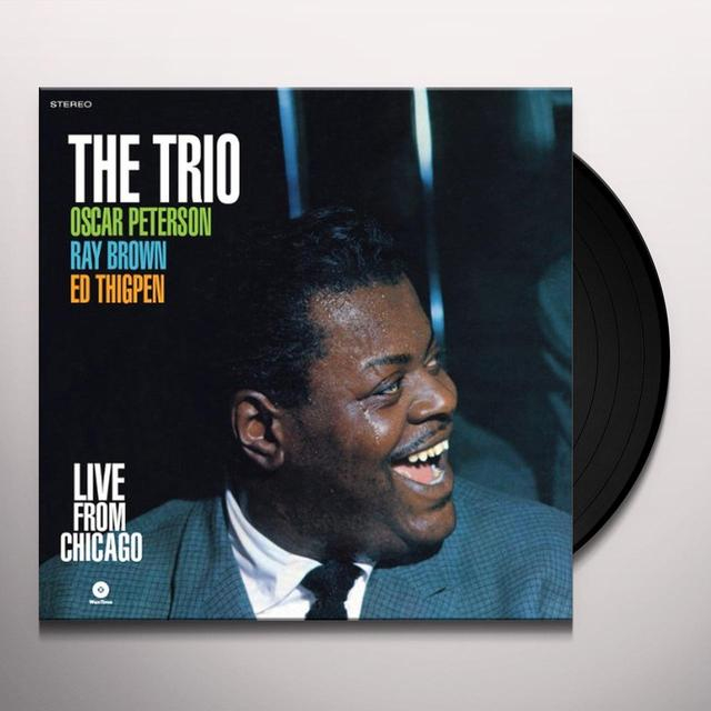 Oscar Peterson LIVE FROM CHICAGO Vinyl Record - Spain Import