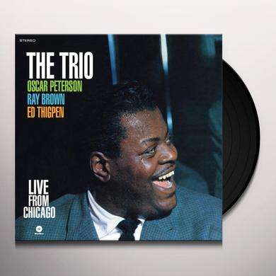 Oscar Peterson LIVE FROM CHICAGO Vinyl Record
