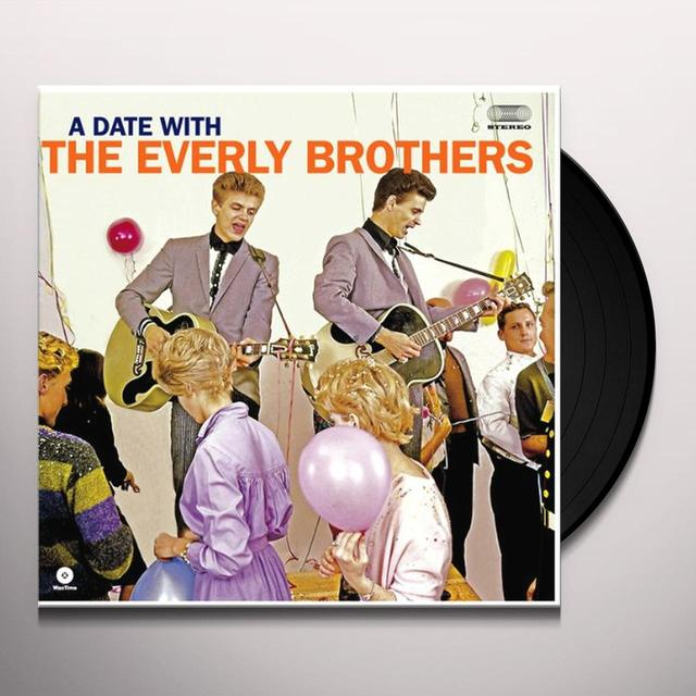 The Everly Brothers DATE WITH Vinyl Record - Spain Release