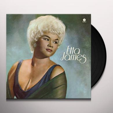 Etta James THIRD ALBUM Vinyl Record - Spain Release