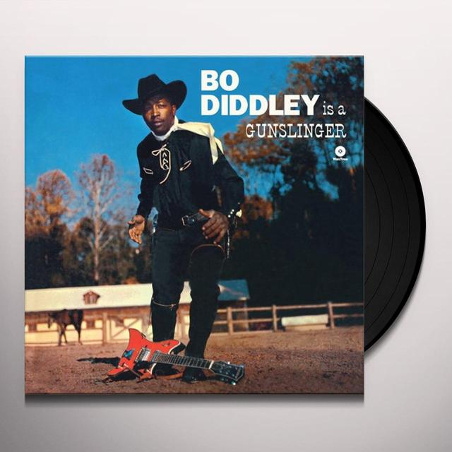 Bo Diddley IS A GUNSLINGER Vinyl Record - Spain Import